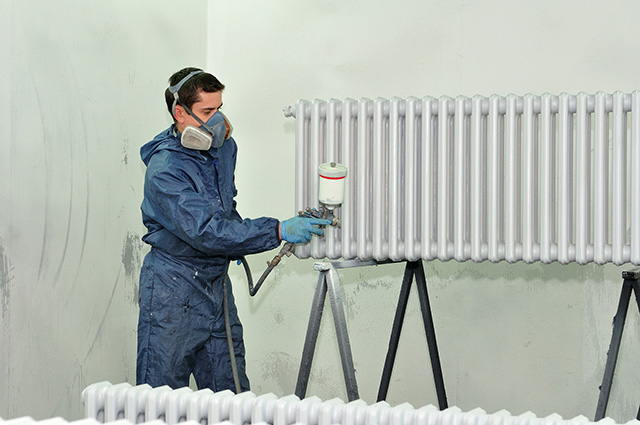 Radiator Spraying