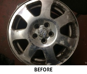 Wheel Restoration Before